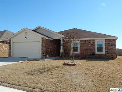 Killeen Single Family Home For Sale: 4406 Texas Rangers Drive