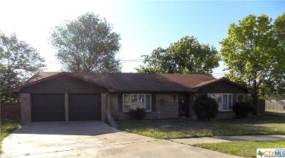Killeen Single Family Home For Sale: 907 Mallow Circle