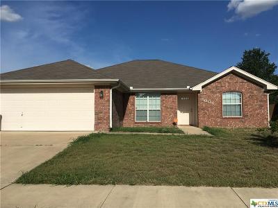 Killeen Single Family Home For Sale: 3006 Jasmine Lane