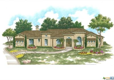 New Braunfels Single Family Home For Sale: 2616 Wild Cat Roost