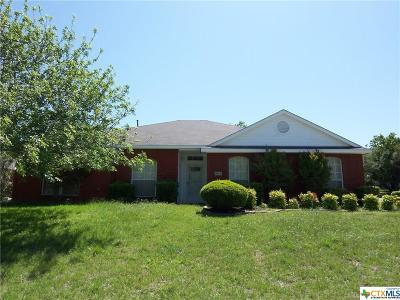Copperas Cove TX Single Family Home For Sale: $169,000