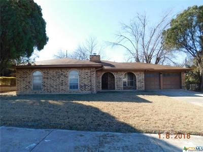 Copperas Cove TX Single Family Home For Sale: $75,900
