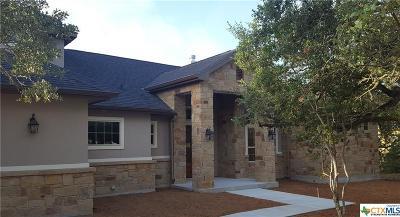 New Braunfels Single Family Home For Sale: 2236 Granada Hills