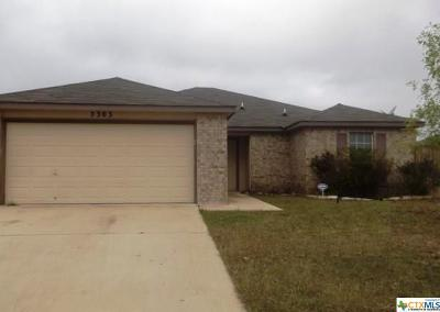 Killeen Single Family Home For Sale: 5303 Holster Drive