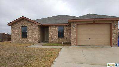 Copperas Cove Single Family Home For Sale: 3101 Redbud