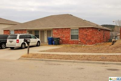 Copperas Cove TX Multi Family Home For Sale: $149,900
