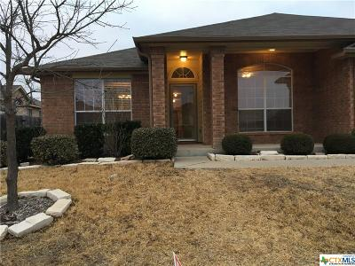 Killeen Single Family Home For Sale: 5603 Drystone