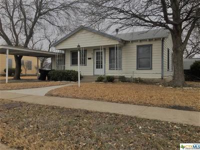 Temple Single Family Home For Sale: 918 Erath