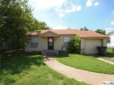 Killeen Single Family Home For Sale: 608 Dean