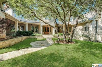 New Braunfels Single Family Home Pending Take Backups: 376 Riverforest