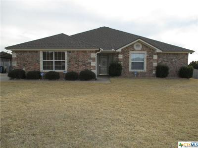 Copperas Cove TX Single Family Home For Sale: $199,500