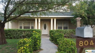 Belton Single Family Home For Sale: 804 Waco