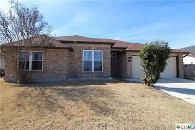 Killeen Single Family Home For Sale: 5003 Wind Song Drive