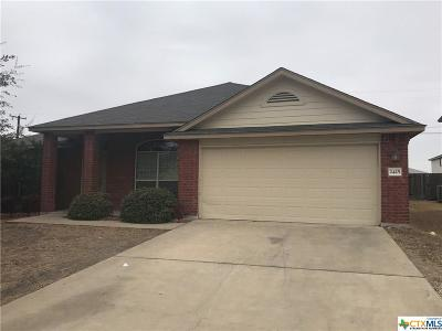 Harker Heights Single Family Home For Sale: 2425 Caroline