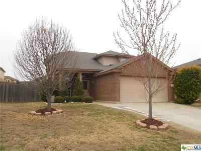Copperas Cove TX Single Family Home For Sale: $140,000