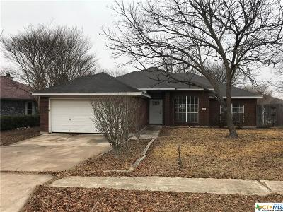 Copperas Cove Single Family Home For Sale: 903 Risen Star