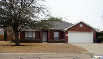 Harker Heights Single Family Home For Sale: 518 Moccasin Drive