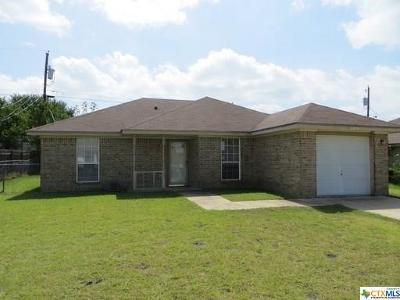 Killeen Single Family Home For Sale: 2604 Cross Timber