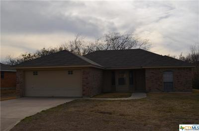Harker Heights Single Family Home For Sale: 510 Jorgette Dr