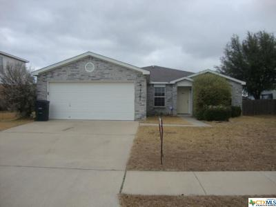 Killeen Single Family Home For Sale: 4007 Bull Run Drive