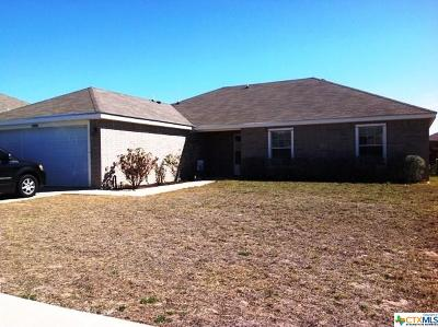 Copperas Cove Single Family Home For Sale: 2008 Gail