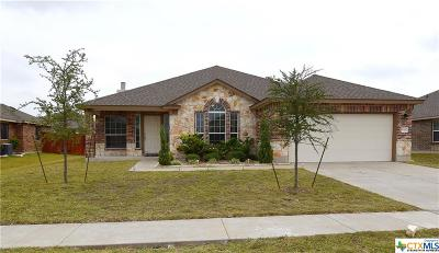 Killeen Single Family Home For Sale: 9402 Zayden
