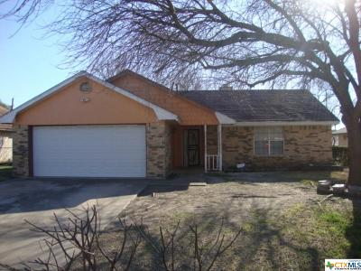 Killeen Single Family Home For Sale: 1504 Rose