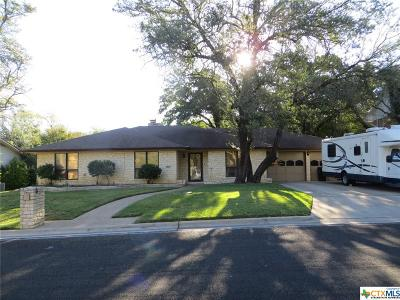 Killeen Single Family Home For Sale: 2107 Antelope Trail