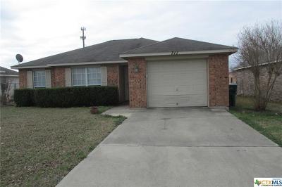 Belton Single Family Home For Sale: 711 3rd Street