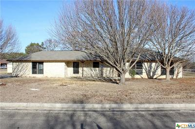Copperas Cove TX Single Family Home For Sale: $185,000