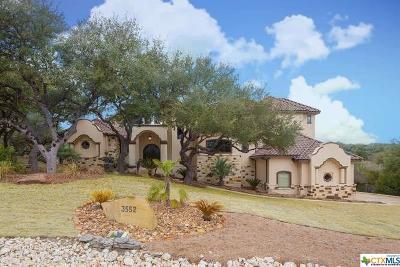 Canyon Lake Single Family Home For Sale: 3552 Comal Springs