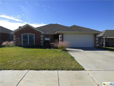 Copperas Cove TX Single Family Home For Sale: $141,500