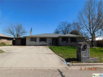 Temple Single Family Home For Sale: 3005 Montana Drive