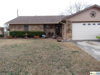 Killeen TX Single Family Home For Sale: $93,000