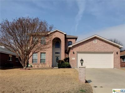 Harker Heights Single Family Home For Sale: 2010 Rain Dance Loop