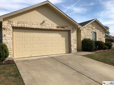 Belton TX Single Family Home For Sale: $115,000