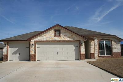 Killeen TX Single Family Home For Sale: $184,000