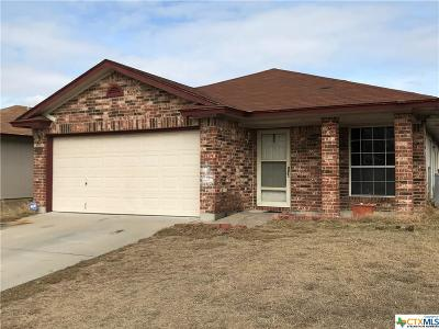 Killeen TX Single Family Home For Sale: $54,999