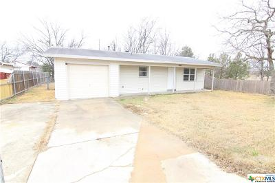 Killeen TX Single Family Home For Sale: $76,000