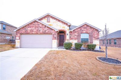 Killeen Single Family Home For Sale: 3607 Cotton Patch Drive