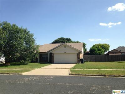 Killeen TX Single Family Home For Sale: $107,900