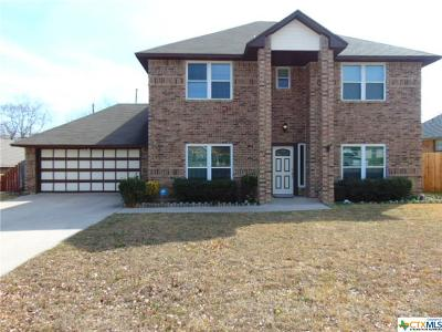 Harker Heights Single Family Home For Sale: 707 Jason Drive