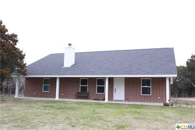 Coryell County Single Family Home For Sale: 136 Canyon Drive