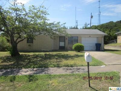 Coryell County Single Family Home For Sale: 806 19th Street