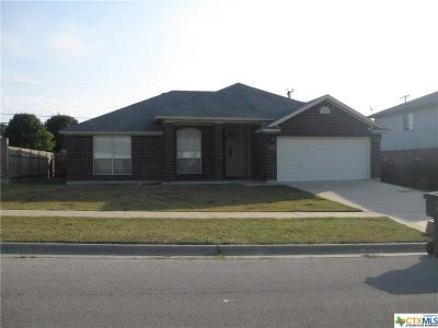 Killeen TX Single Family Home For Sale: $130,000
