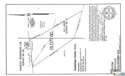 San Marcos Residential Lots & Land Pending Take Backups: Fm 1978