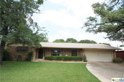 Belton Single Family Home For Sale: 8 Stern