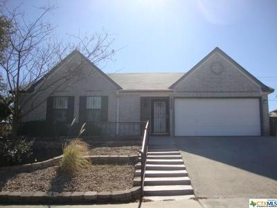 Killeen Single Family Home For Sale: 5008 Parkwood