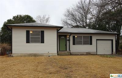 Killeen Single Family Home For Sale: 1310 Zephyr