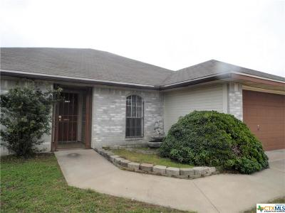 Killeen Single Family Home For Sale: 4300 Lonesome Dove